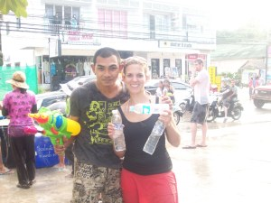 17. Get soaked at the Songkran festival in Thailand.