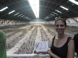 23. See the Terracotta Warriors in China.