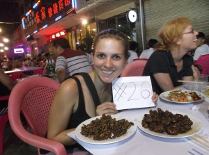 """26. Sample some of the more """"unusual"""" cuisine in China."""