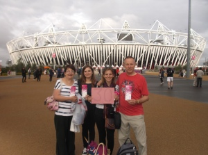 30. Go to the 2012 Olympics in London with my family.