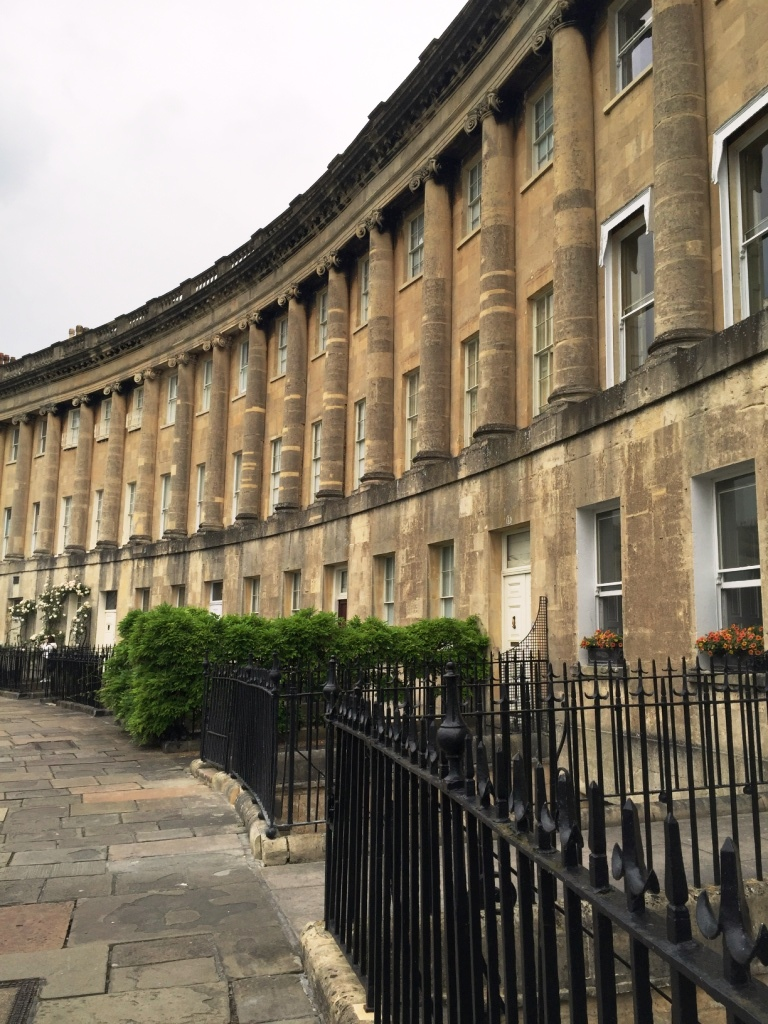 48 hours in Bath - Royal Crescent